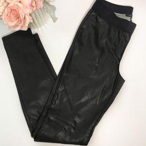 Ann Taylor Faux Leather Leggings